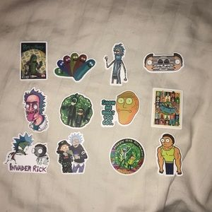 Other - Rick and Morty Stickers🌎☄️